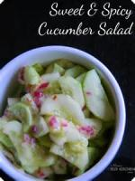 Vegetables - Cucumber -  Spicy Cucumber Salad