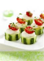 Vegetables - Cucumber -  Cucumber Appetizers