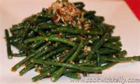 Vegetables - String Beans Chinese Style