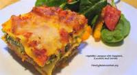 Vegetables - Eggplant Lasagna