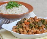 Vegetables - Kale -  Spicy Kale And Chickpea Stew