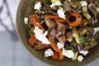 Vegetables - Eggplant -  Grilled Ratatouille Salad