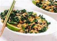 Vegetables - Kale -  Spicy Rice And Kale