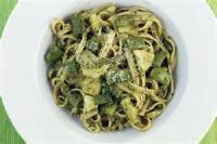 Vegetables - Green Beans -  Fettucine With Pesto, Green Beans And Potatoes