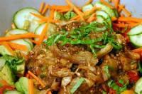 Vegetables - Eggplant Salad