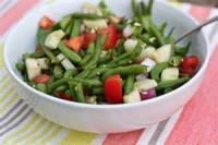 Vegetables - Green Beans -  Savory String Bean Salad