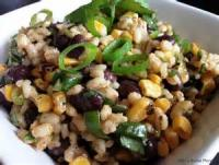 Vegetables - Corn, Bean And Rice Salad