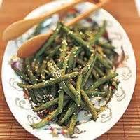 Vegetables - Green Beans -  Hot Sesame Green Beans