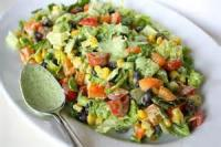 Vegetables - Corn -  Southwest Salad With Cilantro Dressing