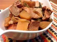 Vegetables - Crockpot Ham And Green Beans