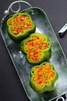 Vegetables - Stuffed Green Peppers