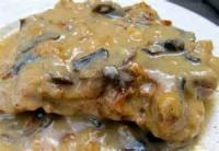 Vegetables - Veal (or Pork) With Mushroom Cream Sauce