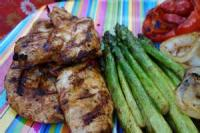 Vegetables - Peppers -  Chicken Cutlets With Roasted Red Peppers