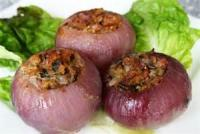 Vegetables - Onion -  Onions Stuffed With Ham