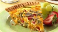 Vegetables - Mushroom Crusted Quiche