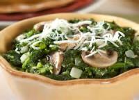 Vegetables - Mushroom -  Mushroom Florentine