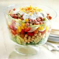 Vegetables - Layered Salad