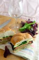 Vegetables - Mushrooms -  Barbecued Grilled Portobello Sandwich