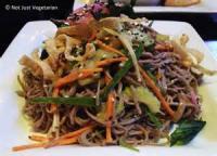 Vegetables - Mushrooms Soba Noodle Salad