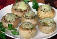 Vegetables - Sausage And Cheese Stuffed Mushrooms