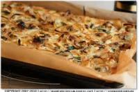 Vegetables - Onion -  Zwiebbelkuchen (onion Pie)