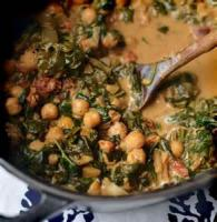 Vegetables - Braised Spinach With Cream