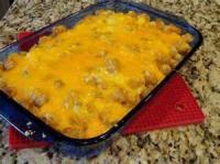 Vegetables - Potato Casserole -  Easy Tater Tot Casserole