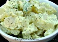 Vegetables - Potato Salad -  Greek Potato Salad