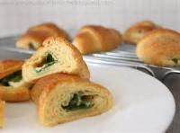Vegetables - Spinach -  Feta Spinach Croissants