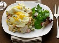 Vegetables - Creamy Potato And Sausage Casserole