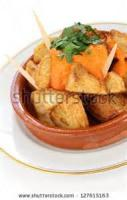 Vegetables - Potato -  Patatas Bravas (hot Spanish Potatoes)