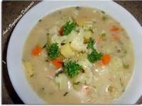 Vegetables - Potato Soup -  Creamy Potato-mushroom Soup