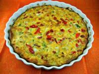 Vegetables - Potato Casserole -  Hash Brown Quiche