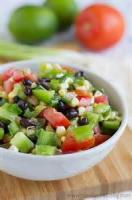Vegetables - Black Bean And Tomato Salad