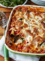 Vegetables - Spinach -  Spinach And Ricotta Manicotti