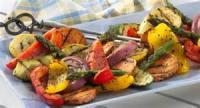 Vegetables - Sweet Potato -  Sweet Potato And Vegetable Kabobs