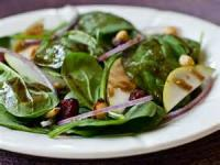 Vegetables - Spinach -  Special Spinach Salad