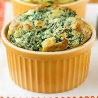 Vegetables - Spinach Souffle