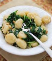Vegetables - Spinach -  Spinach Gnocchi