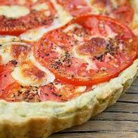 Vegetables - Tomato -  Fresh Tomato Tart With Basil-garlic Crust