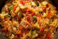 Vegetables - Spaghetti Squash Primavera