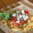 Vegetables - Tomato -  Basil Tomatoes With Gorgonzola