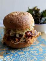 Vegetarian - Sandwich -  Barbecued Grilled Portobello Sandwich