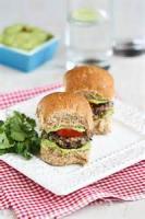 Vegetarian - California Black Bean Burgers