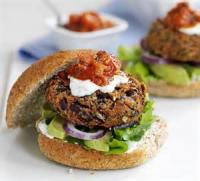 Vegetarian - Spicy Mexican Bean Burgers