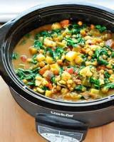 Vegetarian - Stew -  Chickpea And Onion Stew
