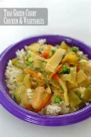 Vegetables - Green Curry
