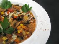 Vegetarian - Entree -  Vegetarian Style Chili Casserole