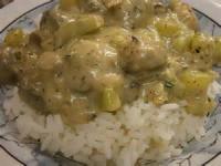 Vegetarian - Rice Stroganoff