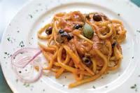 Vegetarian - Spicy Puttanesca-style Pasta
